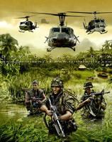Men of War Vietnam, alternate cover by flipation