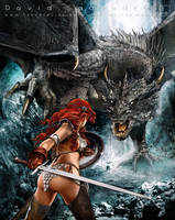 Heroes and Dragons by flipation