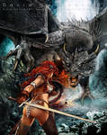 Heroes and Dragons. Breath of fire. by flipation
