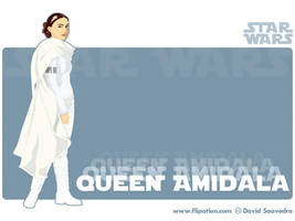 Queen Amidala by flipation