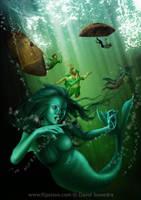 Mermaid's feast by flipation