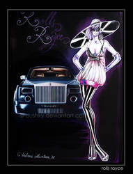 luxury car by dushky