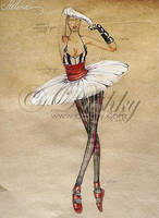 ballerina 1 by dushky