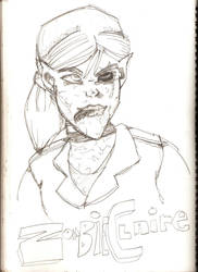 Zombie Claire by JamesSWorth