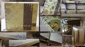 Thai Gold Sketchbook by micalemer