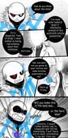 X-Hand Pg 23-24 (Undertale AUs comic) by Dra-Aluxe