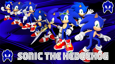 Sonic The Hedgehog In Time V2  by Shadic2001SonicWorld