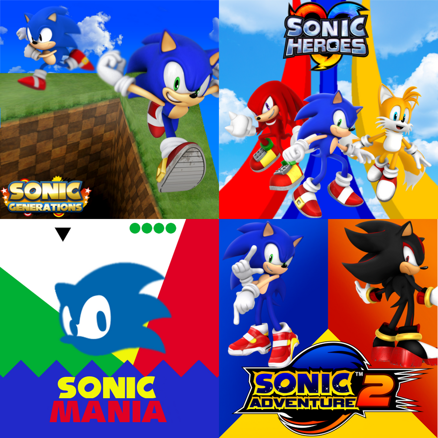 My Favorite Games by Shadic2001SonicWorld