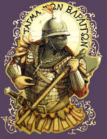 High Medieval Varangian Guard by LordGood