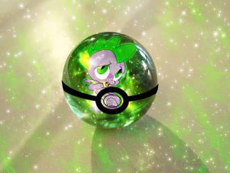 Spike PokeBall by Mirai-Digi