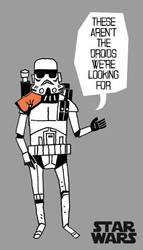 Sticker Stormtrooper by rob-jr