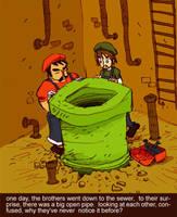 savage mushroom kingdom by rob-jr