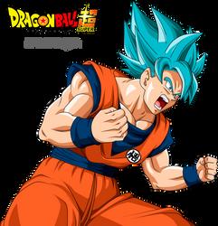 Goku SSGSS by Dannyjs611