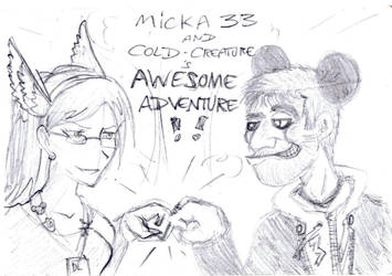 Micka33 and Cold Creature Awesome Adventure by Micka33