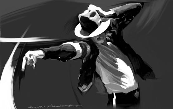 Michael Jackson 'the Dynamic' by darkdamage
