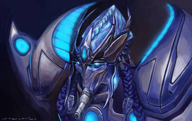 StarCraft 2 High Templar by darkdamage