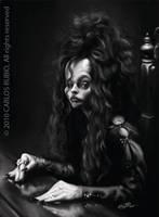 Bellatrix Lestrange by CarlosRubio