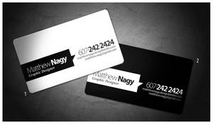 Final Business Card Concept by mattnagy