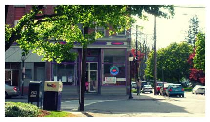 Downtown Alfred by mattnagy