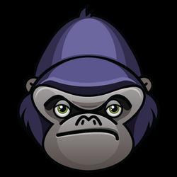 Lazy Gorilla by mattnagy