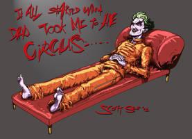Joker Tells all by scottssketches
