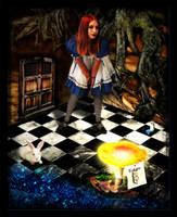 White Rabbit by deekay156