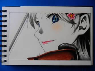 Shigatsu Wa Kimi no Uso (Kaori Miyazono) by 8Angie8