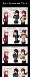 The fandom talk by Tenshi-no-Hikari
