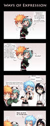 Bleach - Ways of expression by Tenshi-no-Hikari