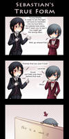 Sebastian's true form by Tenshi-no-Hikari