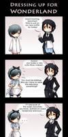 Kuro - Dressing up by Tenshi-no-Hikari