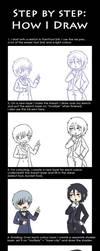 Step by step: Tutorial by Tenshi-no-Hikari