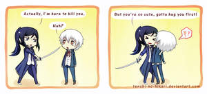 K Project - Too cute to kill by Tenshi-no-Hikari