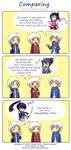 K/No.6/DGM - Comparing by Tenshi-no-Hikari