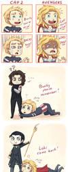 Cap 2 vs. Avengers by Tenshi-no-Hikari