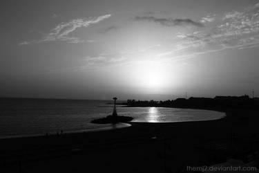 sunset by themj2