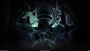 Sword Art Online - Kirito Dual Blades [Wallpaper] by Z4RIEL