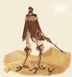 Roadrunner-Wasteland Traveler by Polarhydra