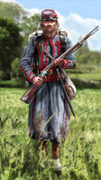 Zouave Pontifical by ManuLaCanette