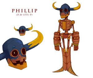 LM: Phillip (Unit P.H - 1771 - P) by Dettan-arts