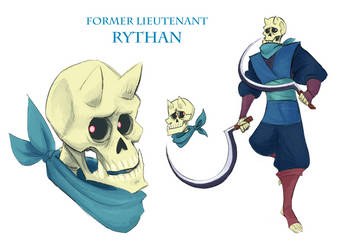 LM: Former lieutenant Rythan by Dettan-arts