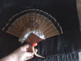 Grouse Tail Fan by Black-Feather