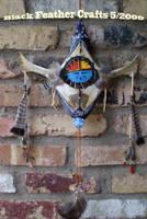 Sky Spirits Wall Kachina by Black-Feather