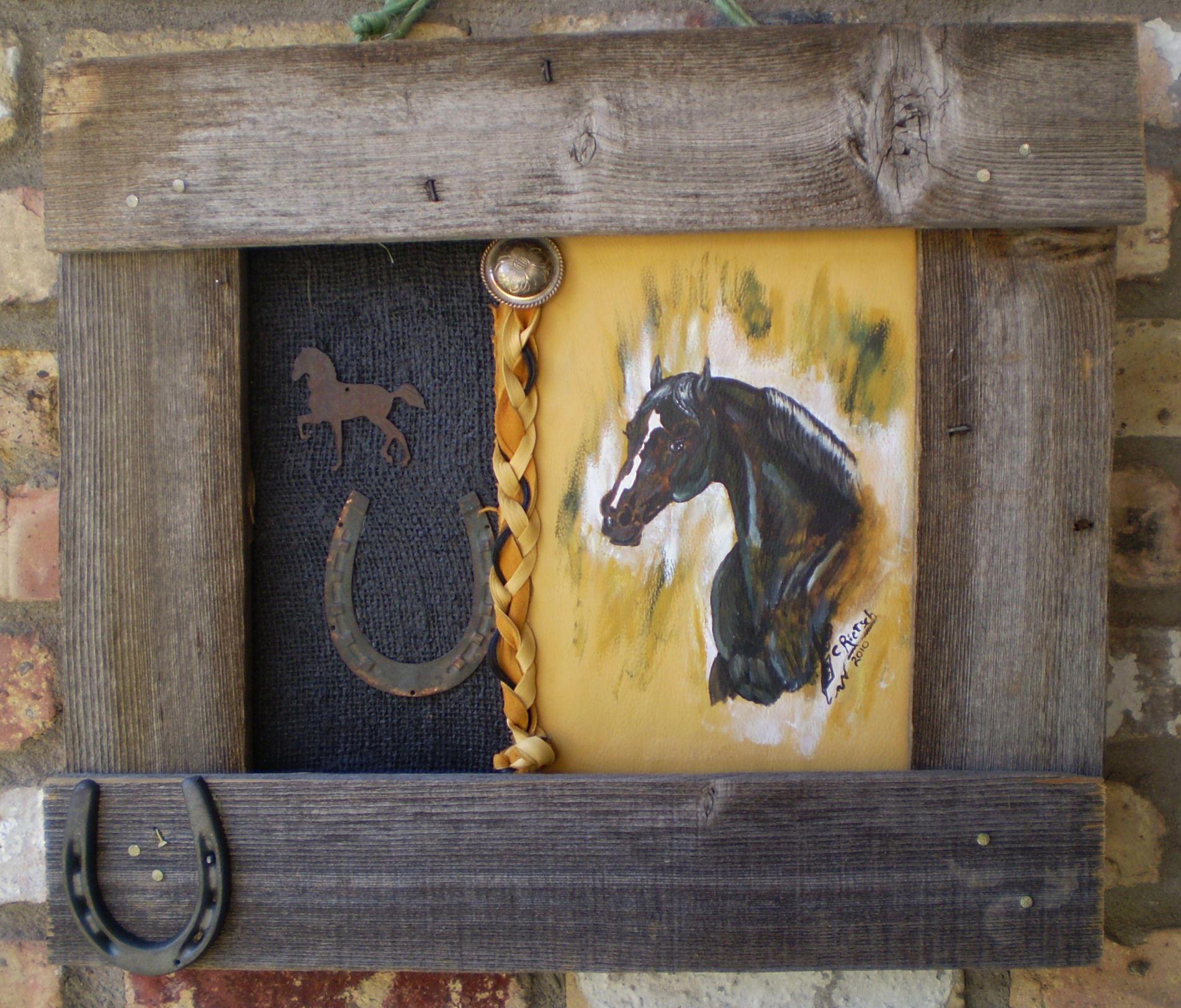 Sabre Horse Portrait Final by Black-Feather