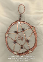 Earth Copper Pentacle by Black-Feather
