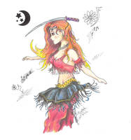 Mabinogi Harem Dancer Neshad by Black-Feather