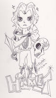 Mabinogi Hamlet in Chibi by Black-Feather