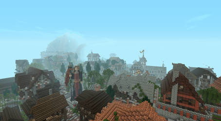 Westeros King's Landing of Minecraft by Black-Feather