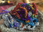A pocket full of chainmaille by Black-Feather