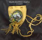 Unicorn Amulet Bag by Black-Feather